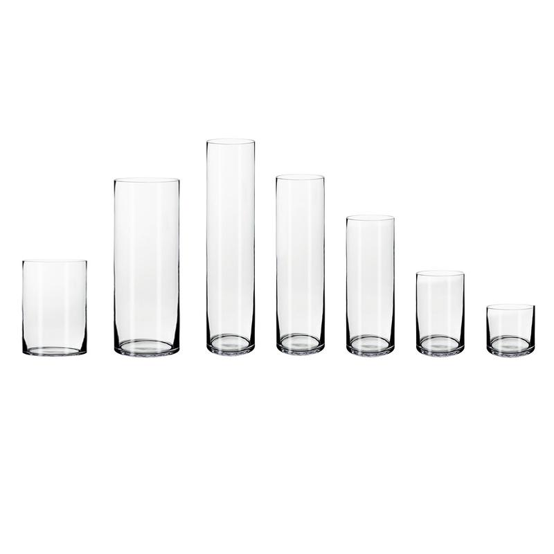 Zylinder cm glasvase 60 Glas Bodenvase