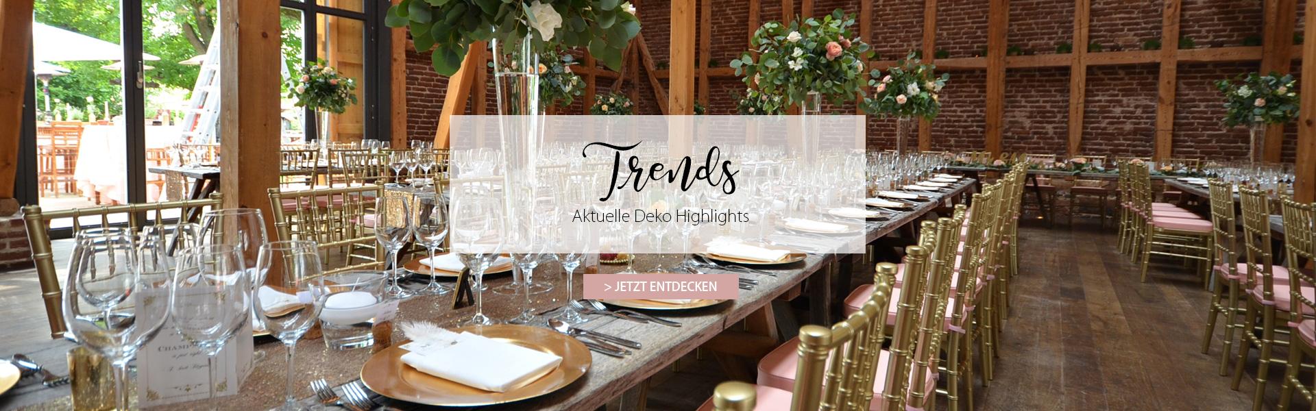 La Deko | Dekoration für Hochzeiten und Events